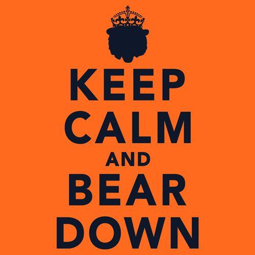 No Urlacher No Problem Brian And Da Bears Will Be Fine Keep Calm And Bear Down Shirts Availabl Chicago Bears Chicago Bears Football Chicago Sports Teams