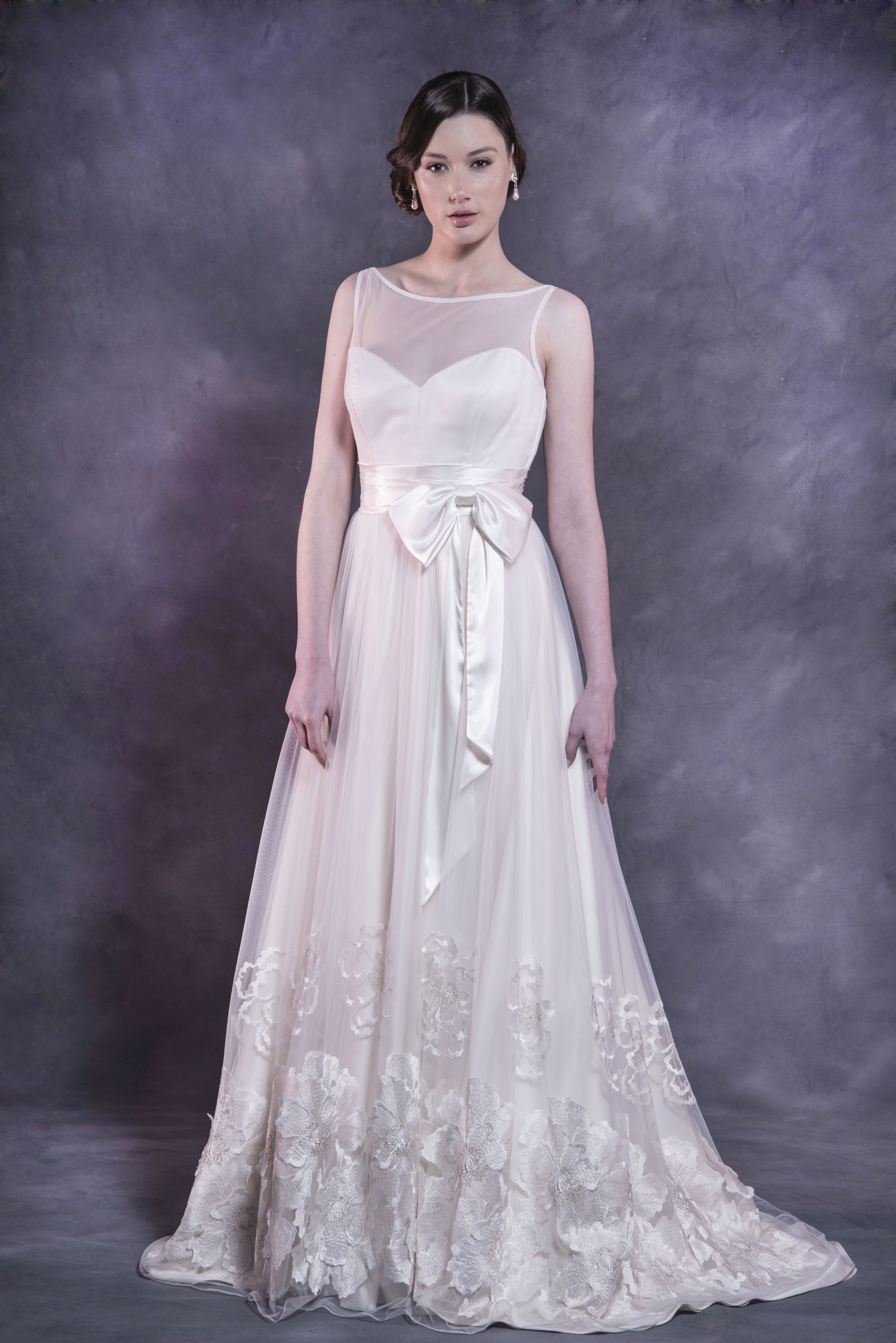 The 'Annabelle' gown from Caleche Bridal has a sweetheart