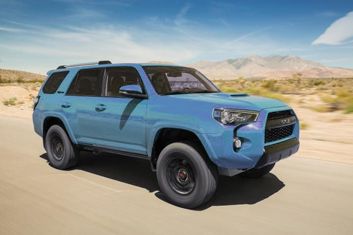2018 Toyota 4runner Trd Pro In Calvary Blue Love This Color