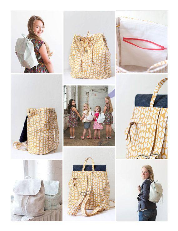 London Backpack - PDF Sewing Pattern | bag | Pinterest