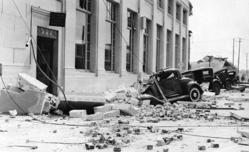 1933 long beach earthquake this earthquake flattened venice high school