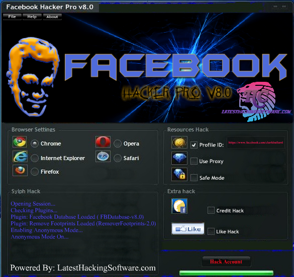 Pin by http://www cheathacker com/ on Download Free Facebook Hacker