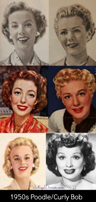 1950s Hairstyles 50s Hairstyles From Short To Long 1950s Hairstyles Vintage Short Hair 50s Hairstyles