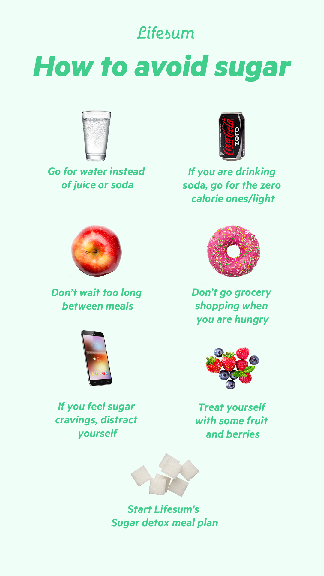 How to avoid sugar