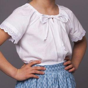4899df07db Húzott blúz -viseleti, Ruha, divat, cipő, Gyerekruha, Gyerek (4-10 év),  Varrás, Húzott nyakú viseleti blúz ,néptánc blúz Fazonja miatt évekig jól  ...