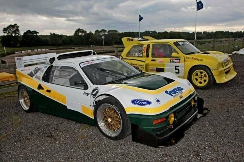 Two Of The Most Iconic Rallycross Cars The Ford Rs200 Metro 6r4