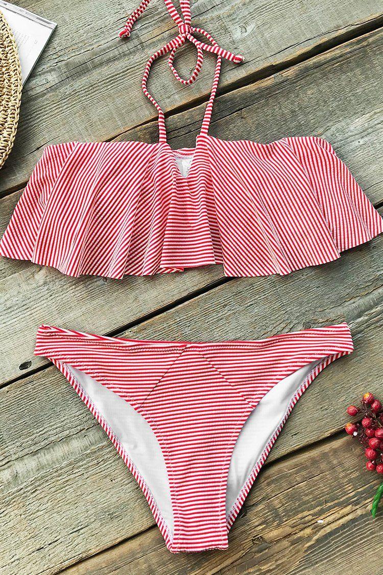 679ffc023f Cupshe - Live Life On The Beach | Bathing suits | Bikinis, Bikini ...
