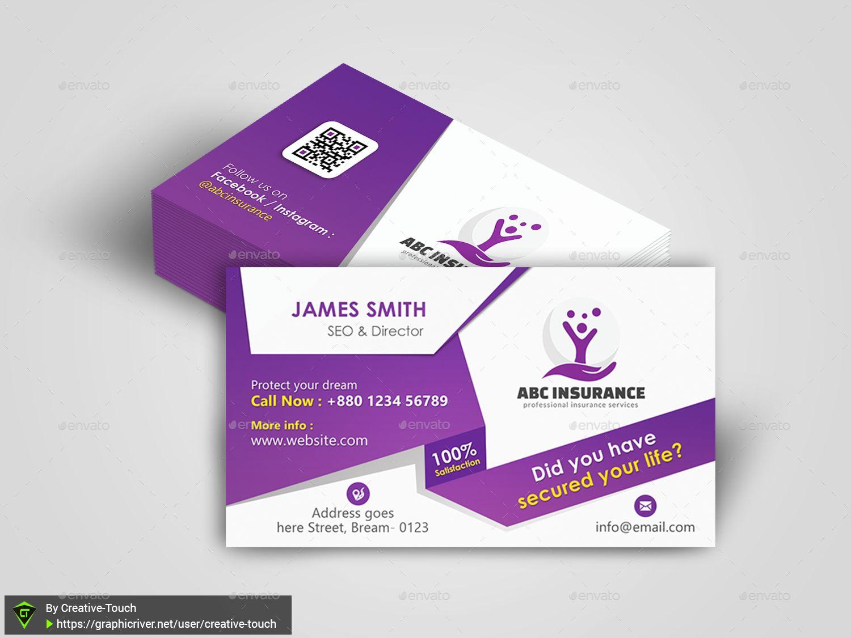 Corporate Insurance Business Card #Insurance, #Corporate ...
