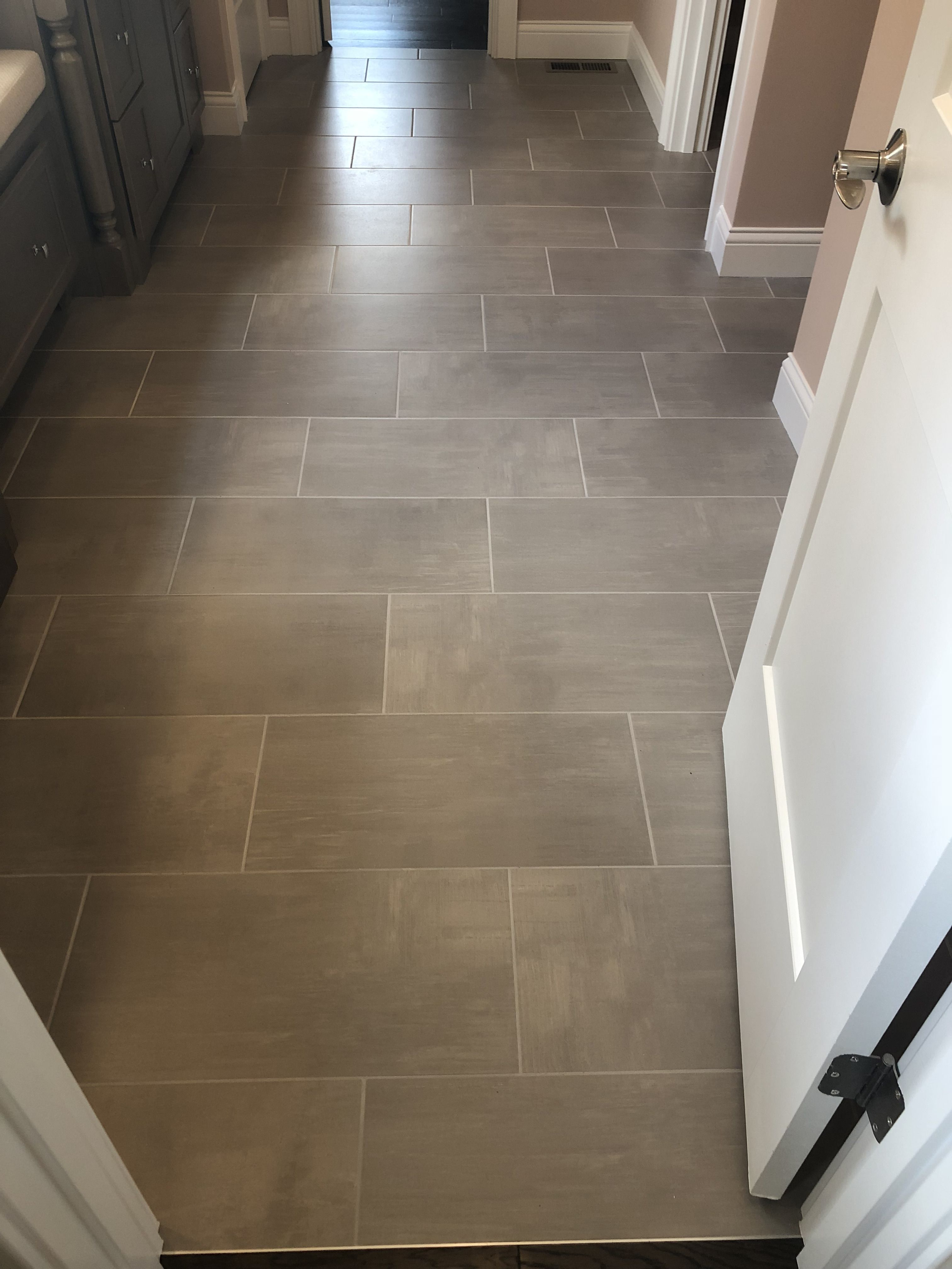 Skybridge 12x24 Gray Floor Tile Tile Floor Bathroom Floor Tiles
