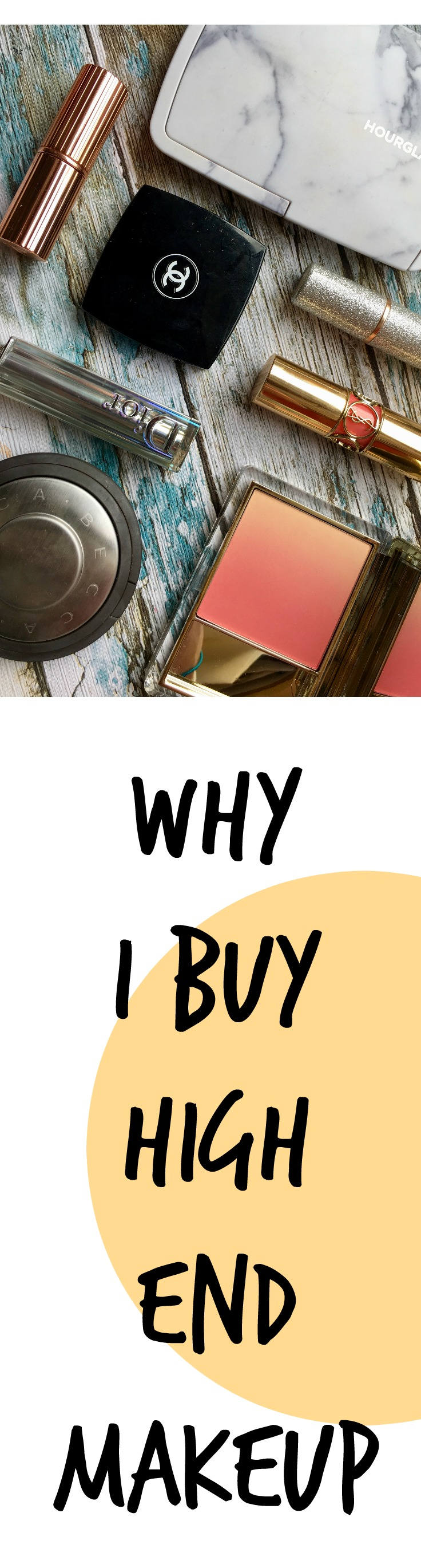 Why I Buy High End MakeUp High end makeup, Makeup, Stuff