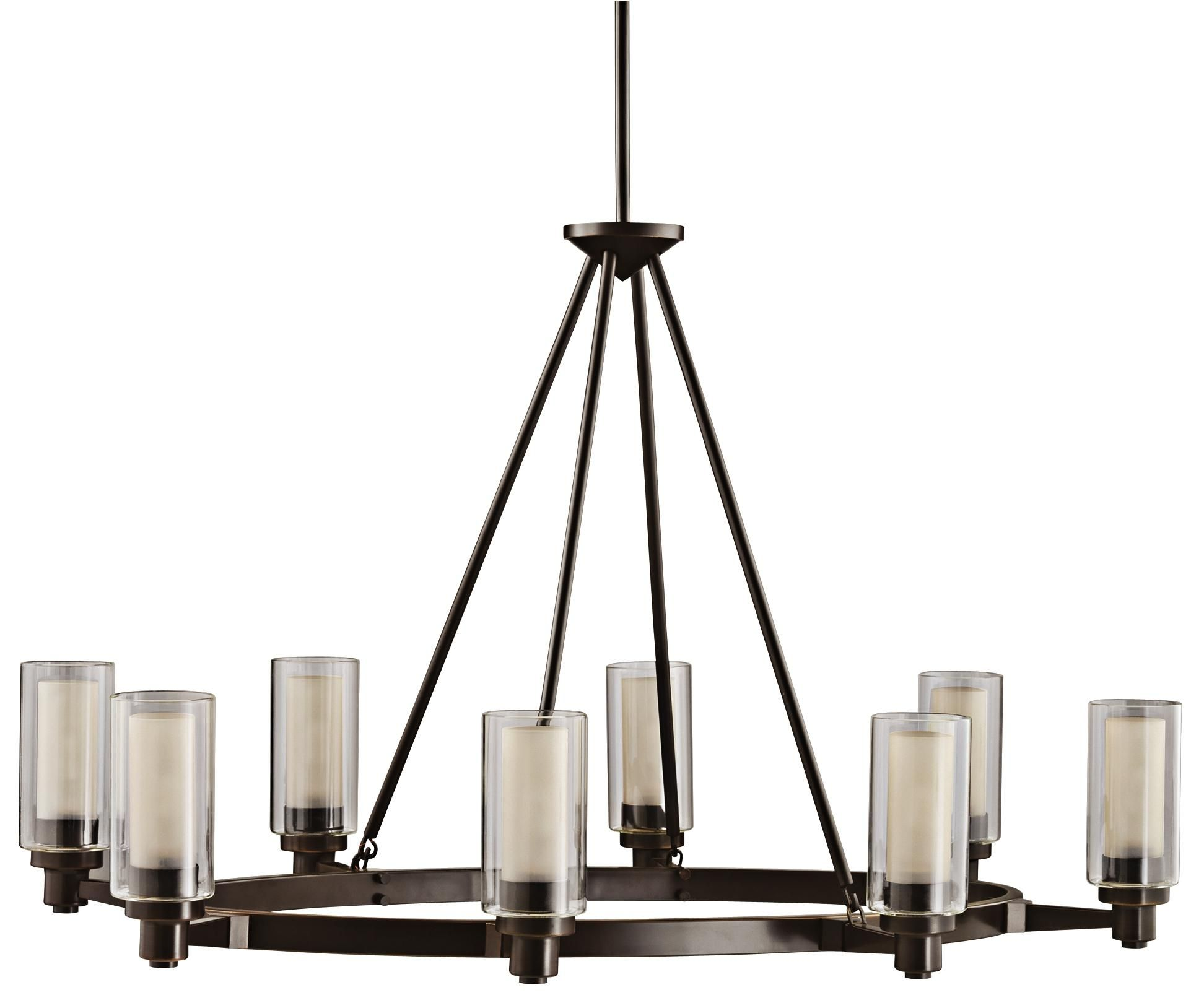 Circolo Collection Olde Bronze 35 1 2 Wide Oval Chandelier