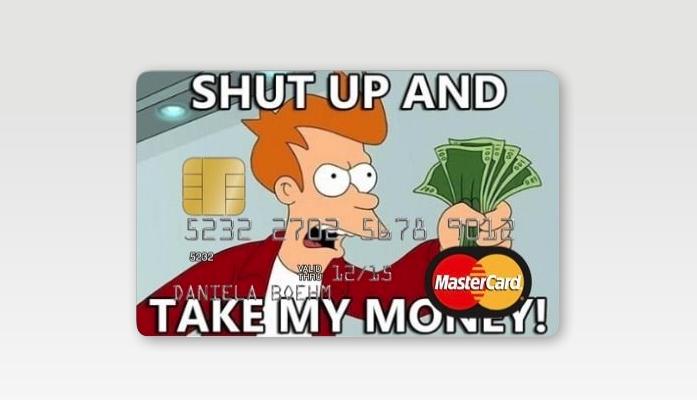 Meu cartão de crédito será assim.