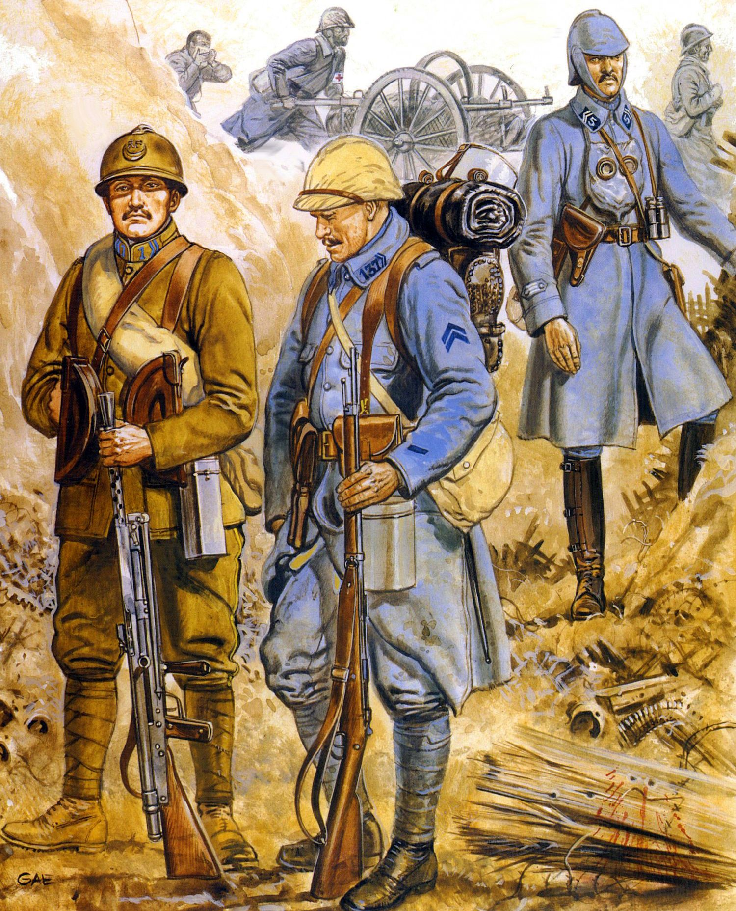 French troops at the battle of verdun ww1 war art pinterest french troops at the battle of verdun publicscrutiny Image collections