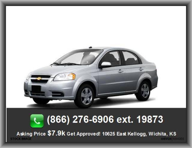 2009 Chevrolet Aveo Ls Sedan Onstar Safe Sound Instrumentation