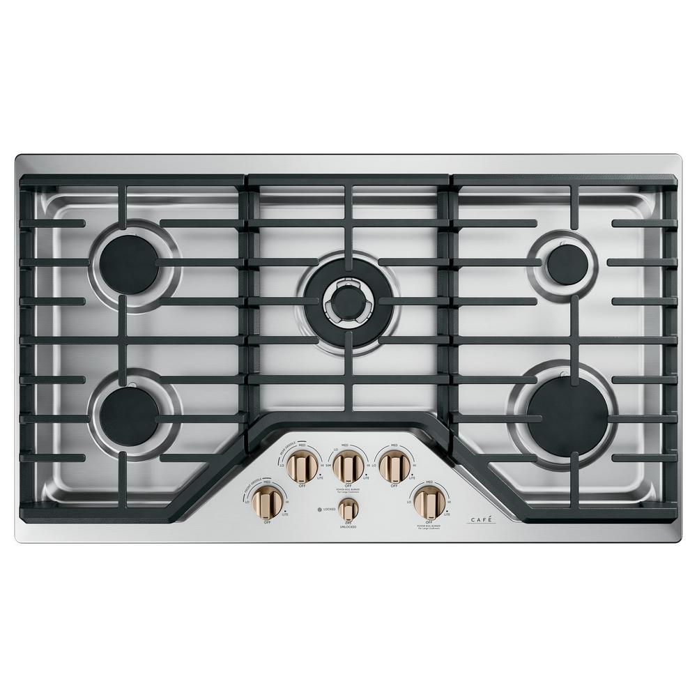 Gas Cooktop In Stainless Steel
