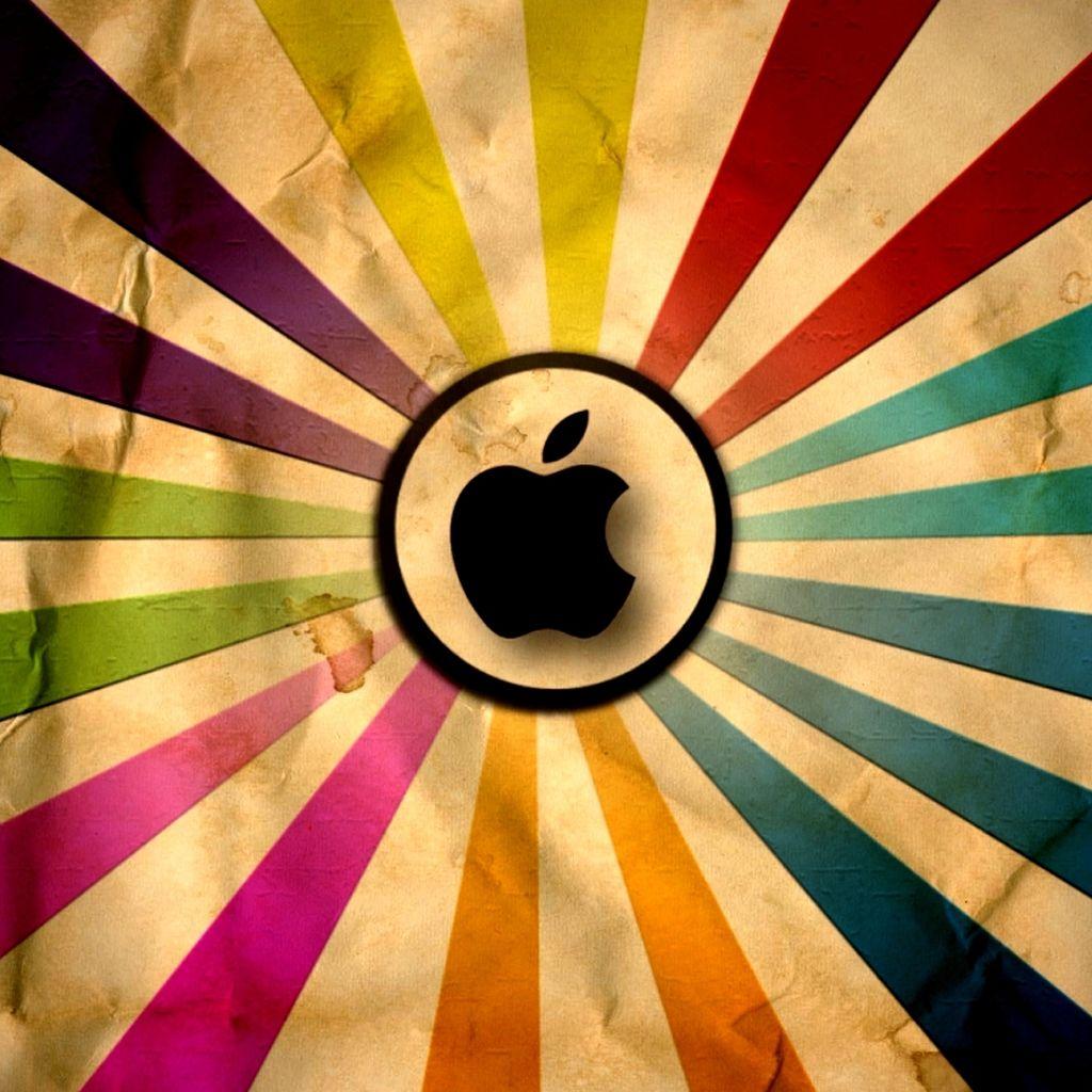 Apple Super Vintage Ipad Wallpapers Apple Logo Wallpaper Iphone