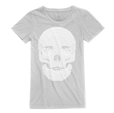 Skull - Ladies Tee Limited Edition Tee to raise funds for the Art Revolution