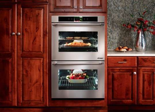 Touch Screen Control Panel On Dacor Discovery Iq Oven Makes It