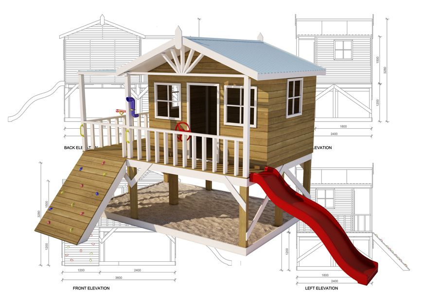 Kitcraft diy cubby houses