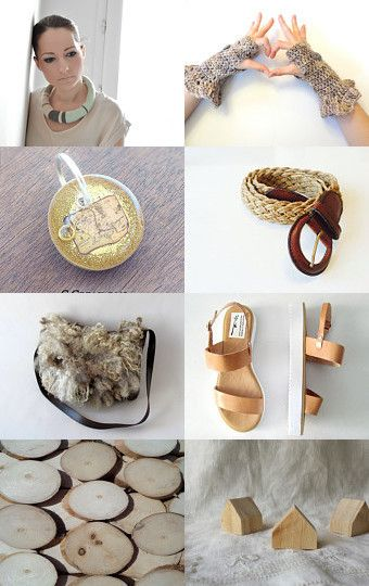 Spring Neutrals by Julia on Etsy