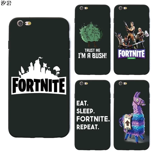 Can You Get Fortnite On Iphone 6 Battle Royale Fortnite Phone Case Soft Silicone Black Tpu For Iphone X Onine Shop