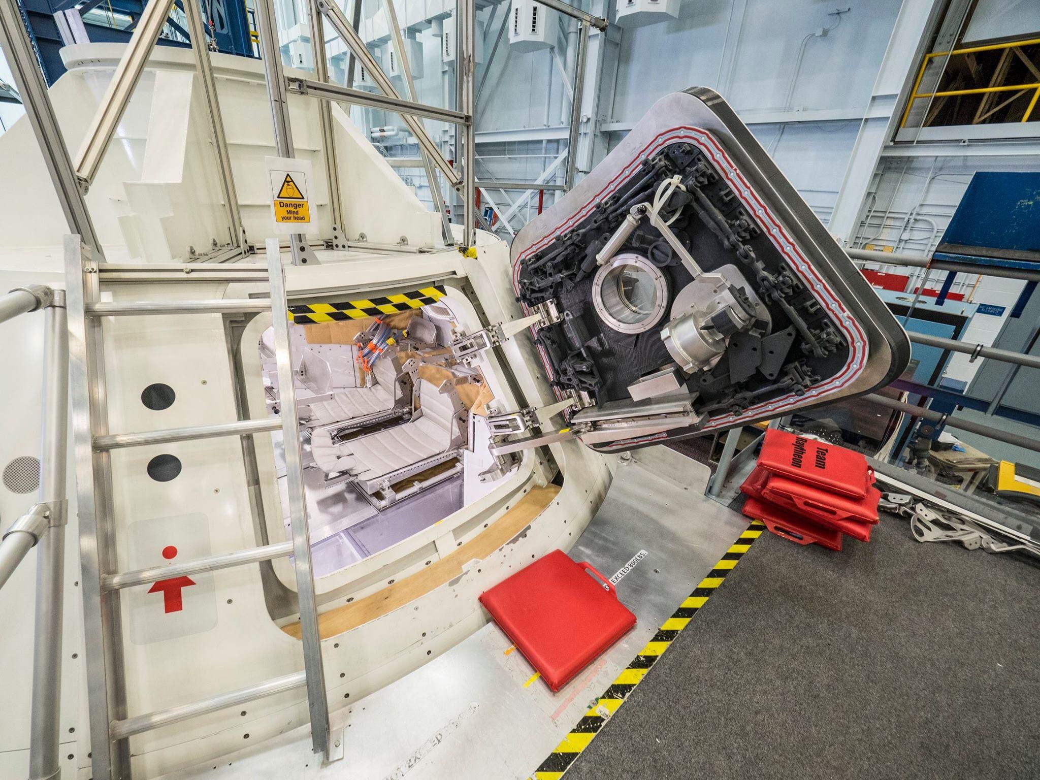 Inside of Orion