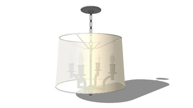 Barbara barry westport chandelier 3d lighting trad and barbara barry westport chandelier aloadofball Images