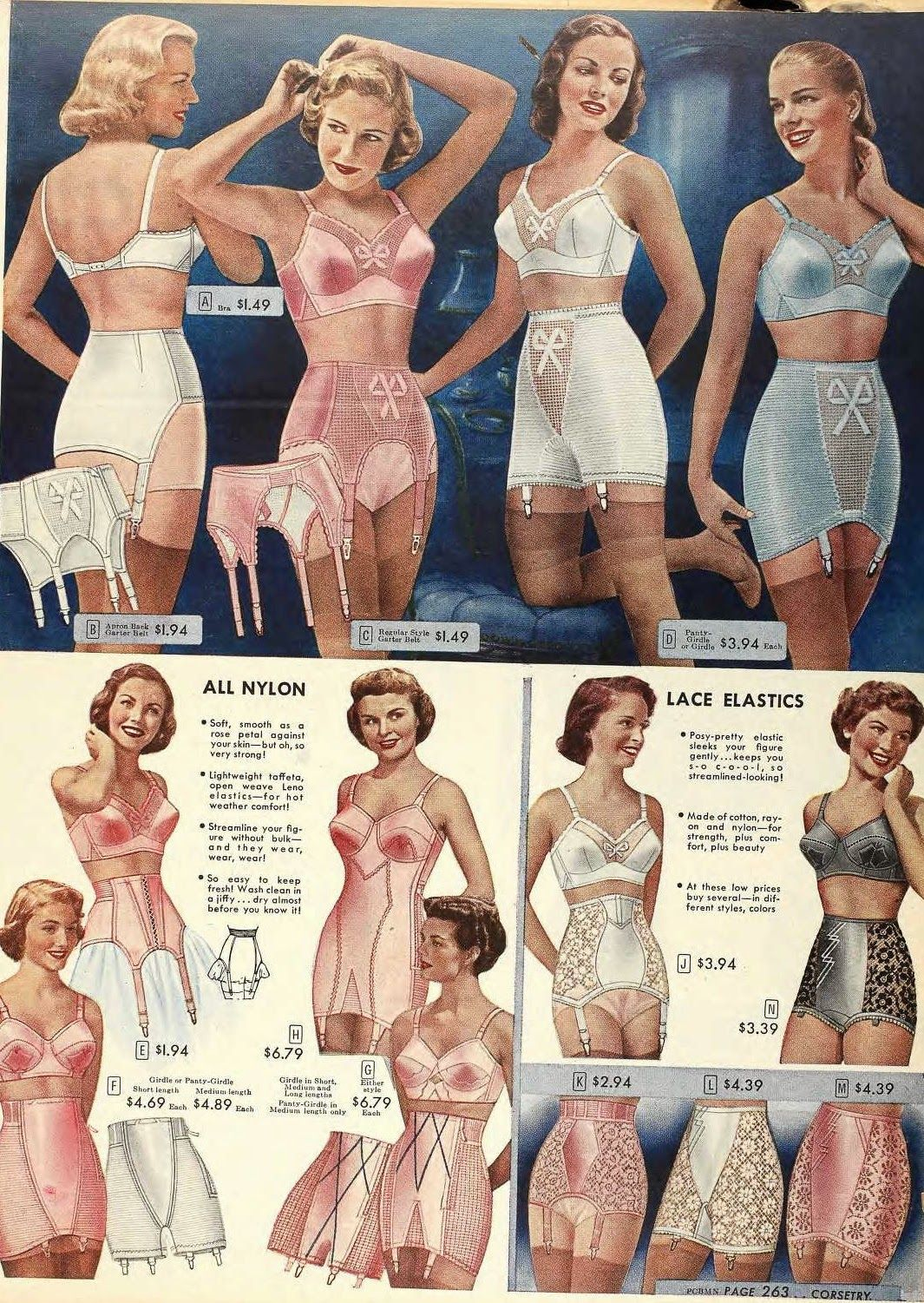 0c69ea352 It ll Take The Snap Out Of Your Garters!  1950s