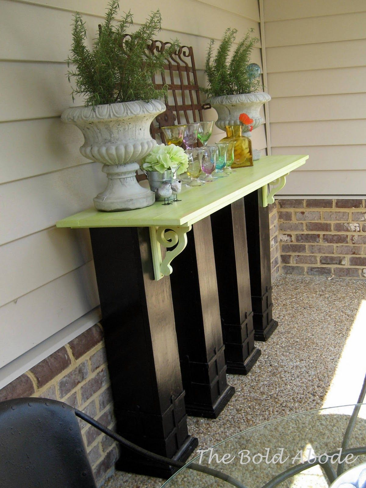 reclaimed columns buffet outdoor buffet decor home decor on inventive ideas to utilize reclaimed wood pallet projects all you must to know id=97105
