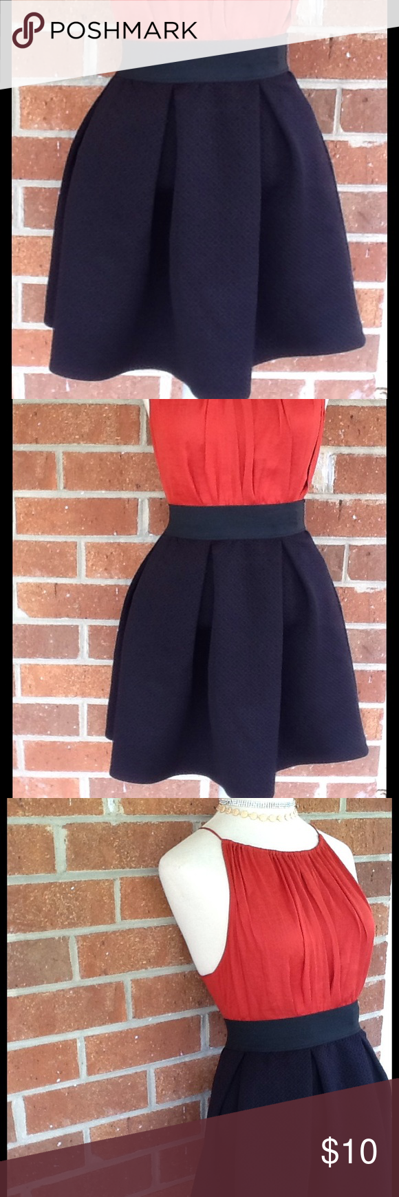 Joe B Diamond Print Skater Skirt Size Large Black Skater Skirt Amanda's Closet Skirts Circle & Skater
