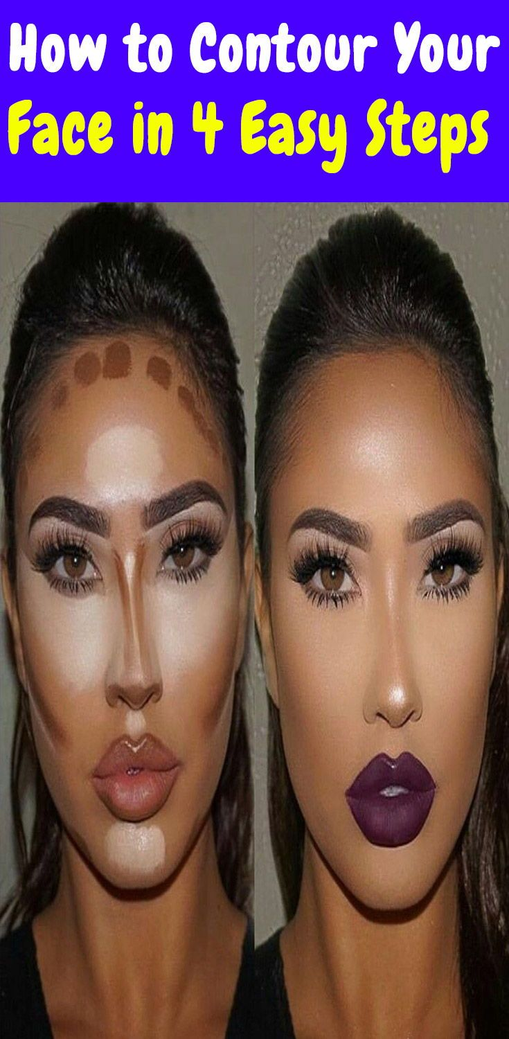 How to Contour Your Face in 4 Easy Steps How to contour