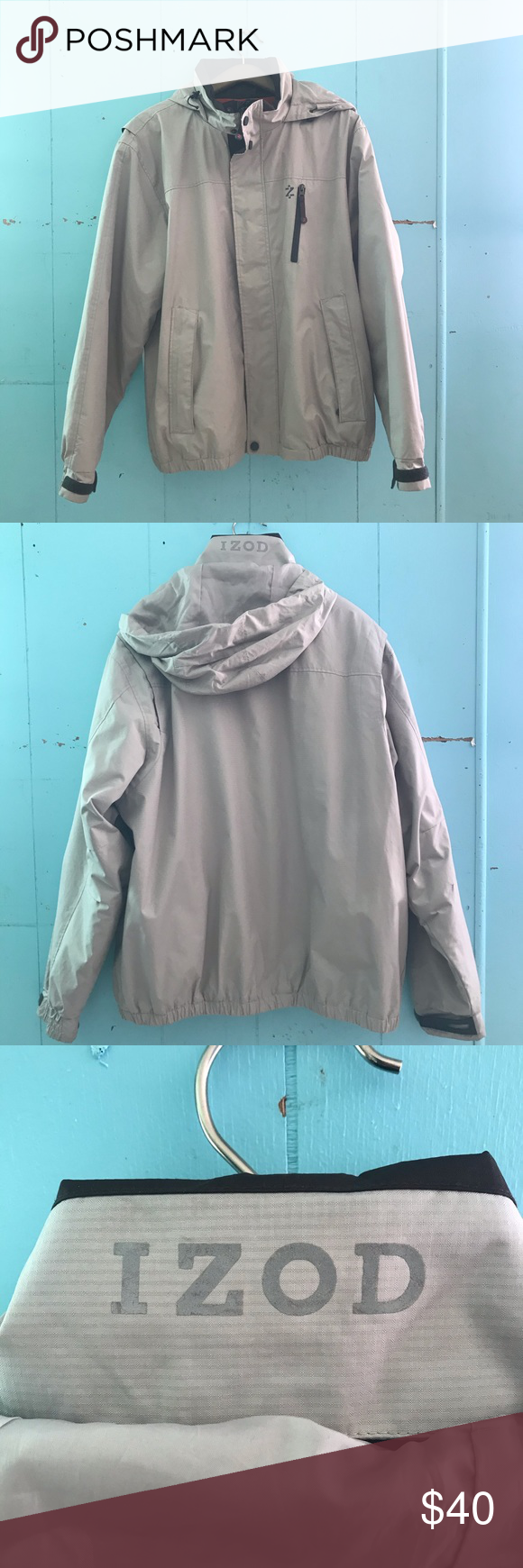 Izod Perform X Winter Jacket Item Is Heavy Good Condition Other Than The Stain On Sleeve Izod Jackets Coats Jackets Winter Jackets Clothes Design [ 1740 x 580 Pixel ]