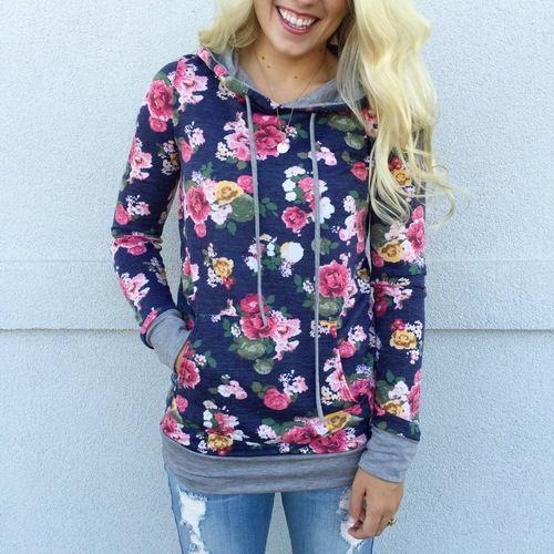 Fall Floral Hoodie in Navy.JPG | Wardrobe | Pinterest | Floral ...