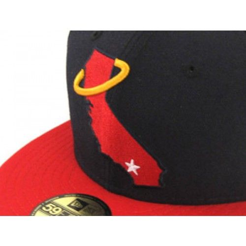 California Angels New Era Hat (Team Colors Retro)