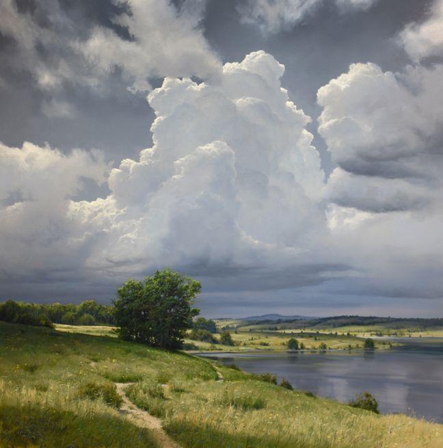 Renato Muccillo 2016 Landscape Sky Painting Oil Painting Landscape