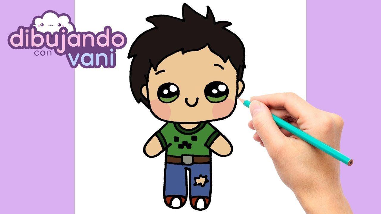 Como Dibujar Un Niño Paso A Paso Dibujos Para Dibujar Faciles Kawaii Como Dibujar Niños Dibujos Kawaii Kawaii