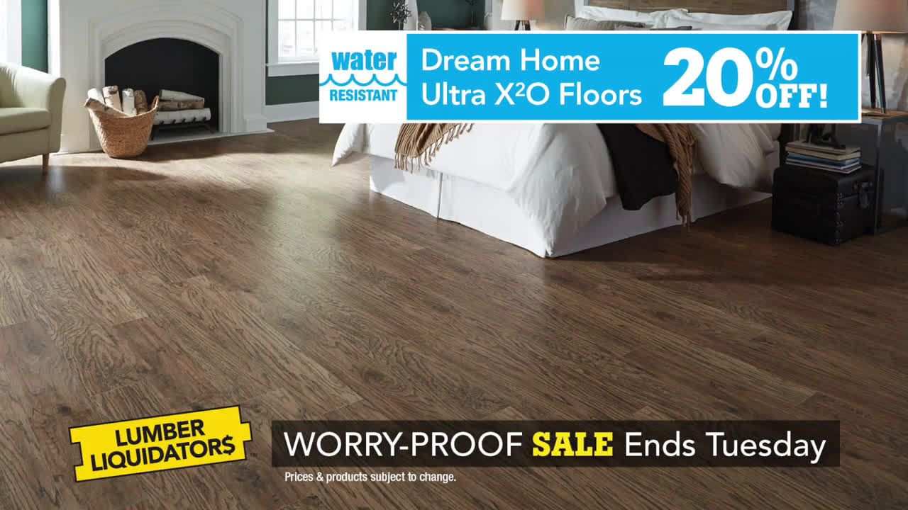 Lumber Liquidators July 25Aug 7 Worry Proof Flooring Sale