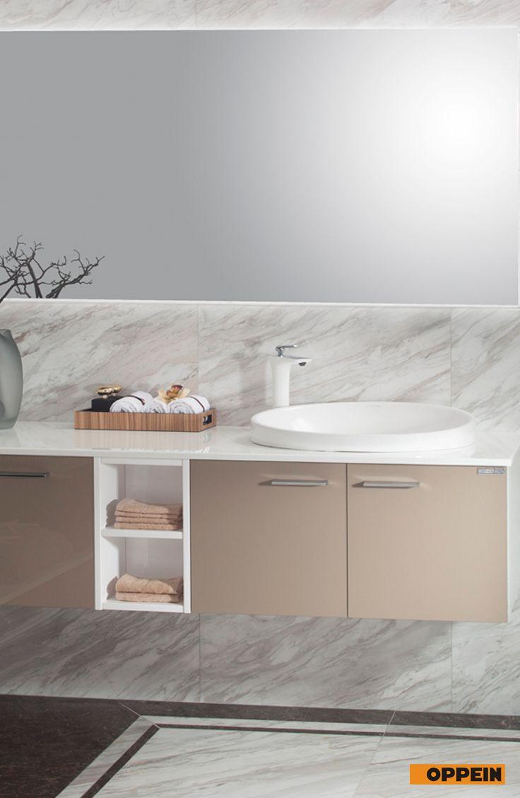Modern Dark Color High Gloss Acrylic Bathroom Cabinet | Bathroom ...