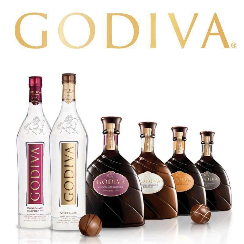 Godiva Chocolate Liqueur's & Spirits ... Cocktails
