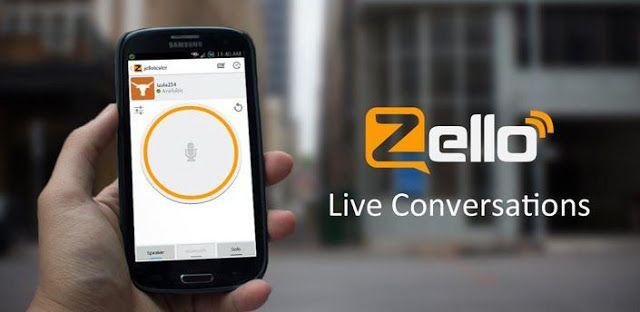 برنامج زيلو Zello للمحادثات الصوتية المجانية متوفر لجميع