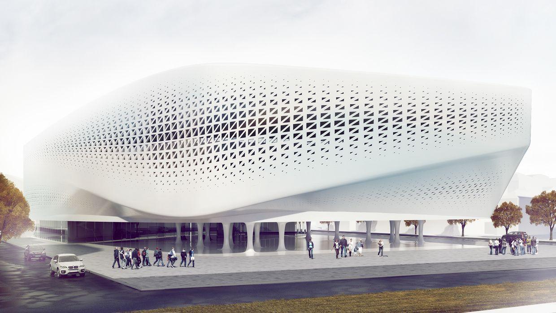 Supernova Universal Hall On Behance Arhitektura