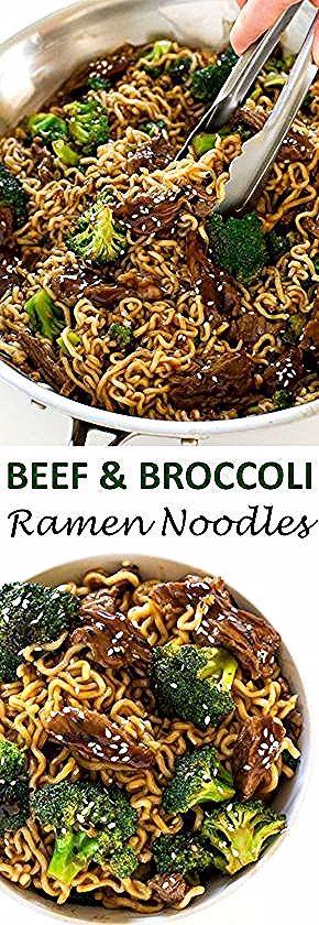 Rindfleisch und Broccoli Ramen , #broccoli #fleischgerichte #ramen #rindfleisch