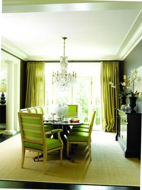 Oh Hey There Lime Green Dining Room Where Have You Been Hiding