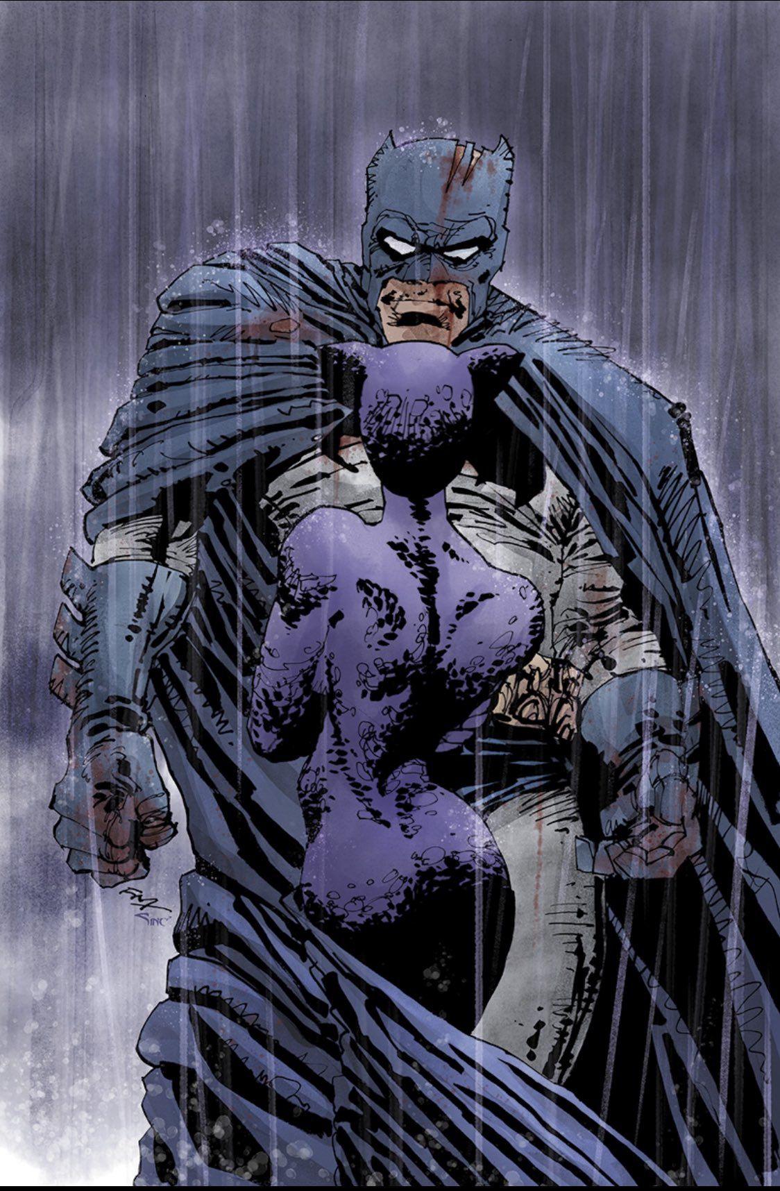 Frank Miller Com Imagens Batman Super Heroi
