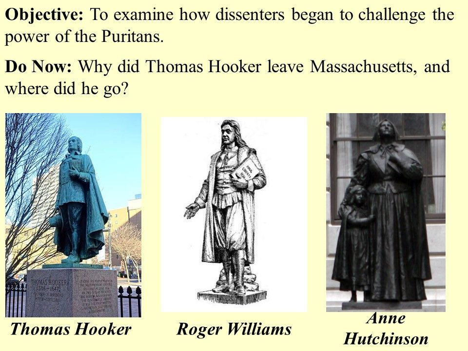 roger williams and anne hutchinson