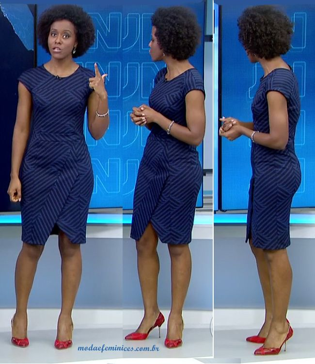 Como ver o vestido azul e preto