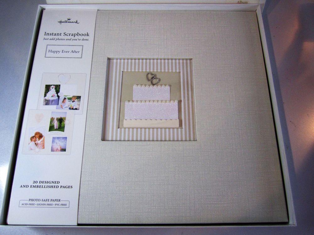 Hallmark Instant Scrapbook Happy Ever After Wedding Photo Album