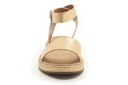 f201a650a14c1b Womens Casual Sandals - Romantic Moon in Gold Metallic from Clarks shoes