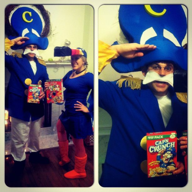 capn crunch toucan sam halloween costume - Captain Crunch Halloween
