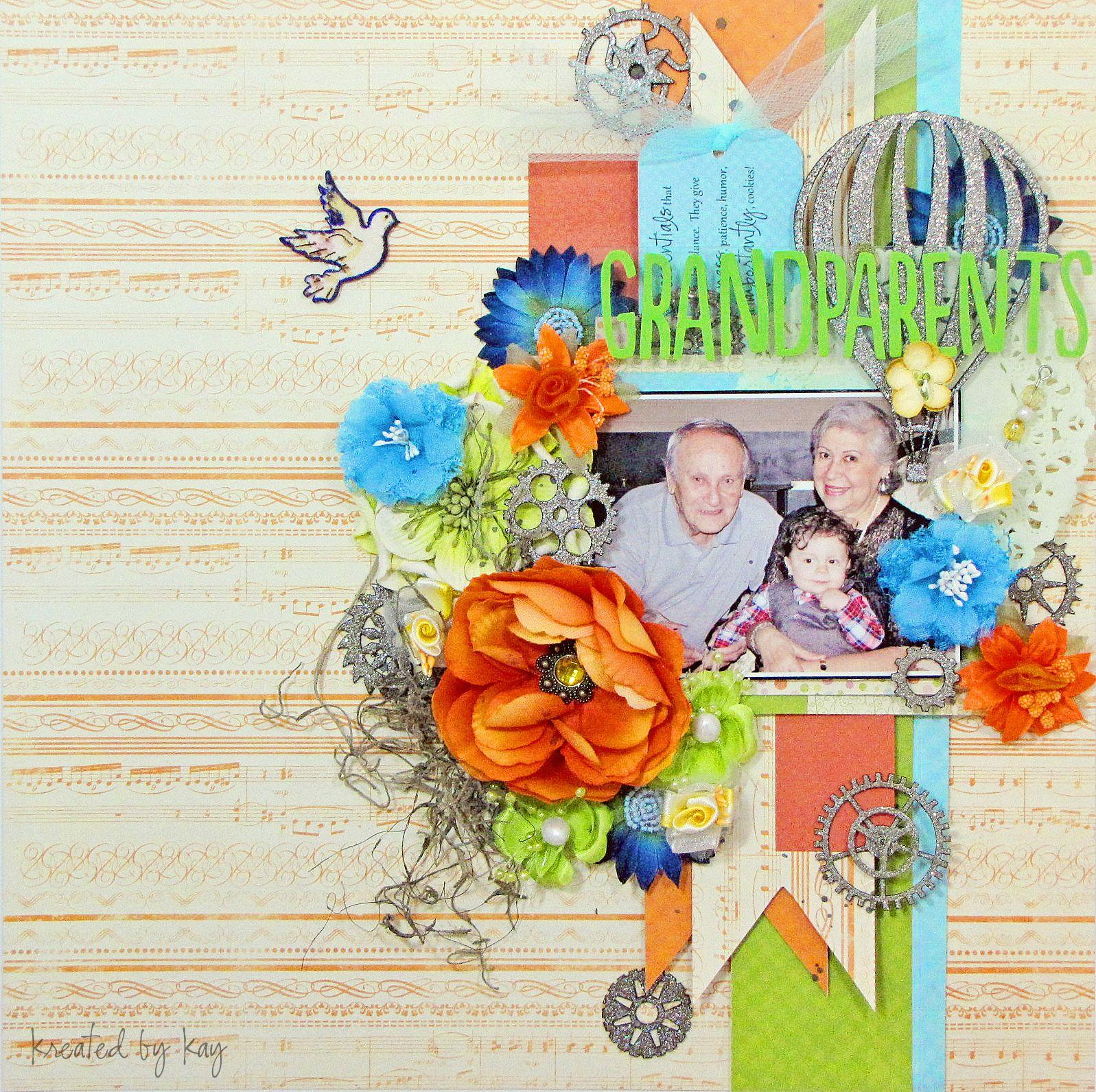 Grandparents  Scrapbook  Scrapbook Ideas  Pinterest